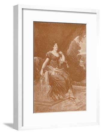 'Frederica Catherine Sophia Dorothea...Queen of Westphalia', c1810, (1896)-Unknown-Framed Giclee Print