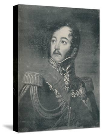 'Count Jean Rapp', c1800, (c1835), (1896)-Unknown-Stretched Canvas Print