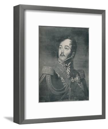 'Count Jean Rapp', c1800, (c1835), (1896)-Unknown-Framed Giclee Print