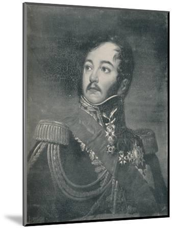 'Count Jean Rapp', c1800, (c1835), (1896)-Unknown-Mounted Giclee Print
