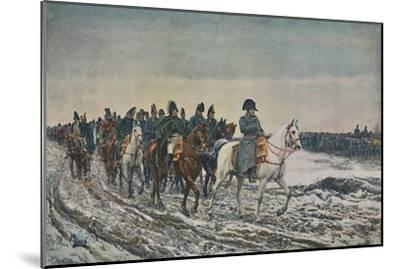 '1814 - Campaign of France', (1896)-Unknown-Mounted Giclee Print