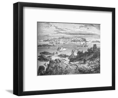 'Sweaborg', c1880-Richard Principal Leitch-Framed Giclee Print