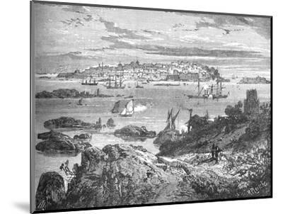 'Sweaborg', c1880-Richard Principal Leitch-Mounted Giclee Print