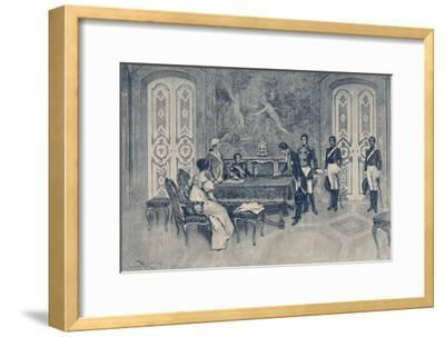 'The Arrest of Ferdinand', 1807, (1896)-Unknown-Framed Giclee Print
