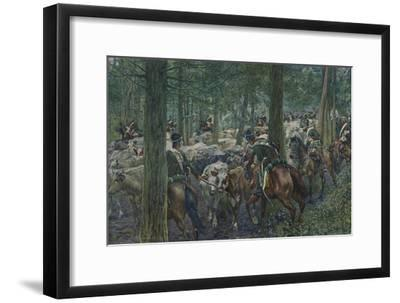 'Marbot's Soldiers Foraging On the Retreat', 1896-Unknown-Framed Giclee Print