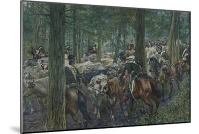 'Marbot's Soldiers Foraging On the Retreat', 1896-Unknown-Mounted Giclee Print