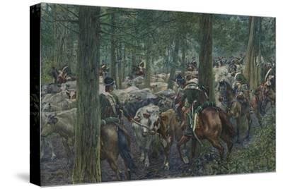'Marbot's Soldiers Foraging On the Retreat', 1896-Unknown-Stretched Canvas Print