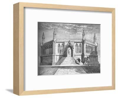 'Memorial Chapel at Cawnpore', c1880-Richard Principal Leitch-Framed Giclee Print