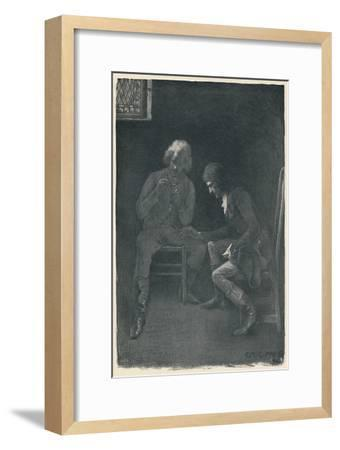 'Bonaparte Pawning His Watch', 1792, (1896)-Unknown-Framed Giclee Print