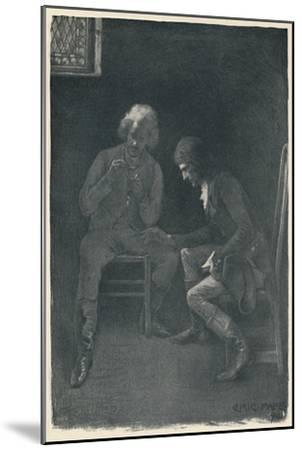 'Bonaparte Pawning His Watch', 1792, (1896)-Unknown-Mounted Giclee Print