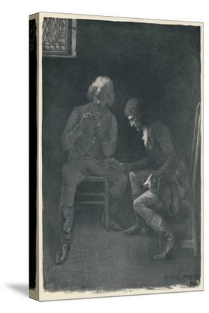 'Bonaparte Pawning His Watch', 1792, (1896)-Unknown-Stretched Canvas Print