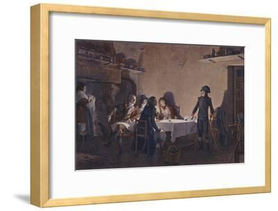 'The Supper of Beaucaire', 1793, (1896)-Unknown-Framed Giclee Print