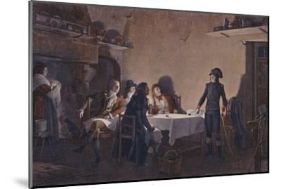 'The Supper of Beaucaire', 1793, (1896)-Unknown-Mounted Giclee Print