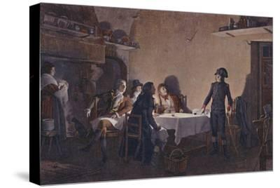 'The Supper of Beaucaire', 1793, (1896)-Unknown-Stretched Canvas Print