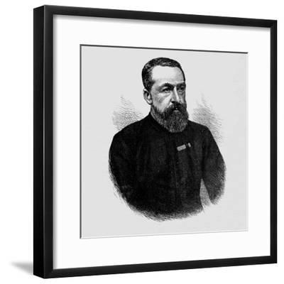 'Captain Glover', 1880-Unknown-Framed Giclee Print