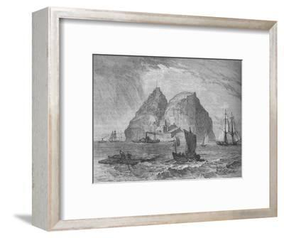 'Dumbarton Castle', c1880-Unknown-Framed Giclee Print