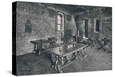 'Interior, Palazzo Davanzati - With Late 16th Century Florentine Table', 1928-Unknown-Stretched Canvas Print