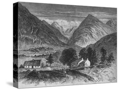 'Glencoe', c1880-Unknown-Stretched Canvas Print