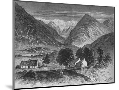 'Glencoe', c1880-Unknown-Mounted Giclee Print