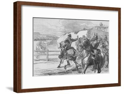 'Surprise of the French by Beresford', c1880-Unknown-Framed Giclee Print