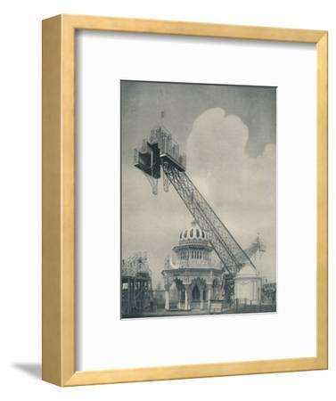 'Monstrous Development of the See Saw to Please Simple Minds', c1935-Unknown-Framed Photographic Print