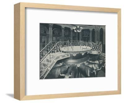'The Font of Baptism Personal Or By Proxy', c1935-Unknown-Framed Photographic Print