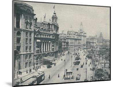 'In the Bund The Enterprising Foreigner Has Come To Stay', c1935-Unknown-Mounted Photographic Print