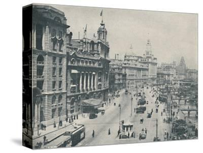 'In the Bund The Enterprising Foreigner Has Come To Stay', c1935-Unknown-Stretched Canvas Print