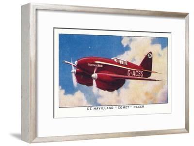 'De Havilland Comet Racer', 1938-Unknown-Framed Giclee Print
