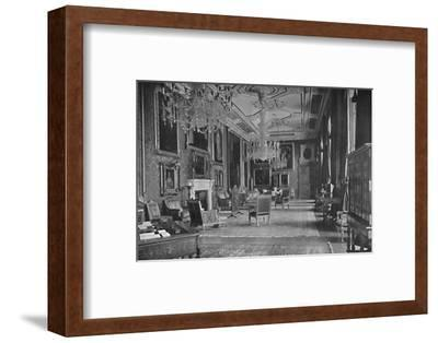 'The Van Dyck Room, Windsor Castle', 1927-Unknown-Framed Photographic Print