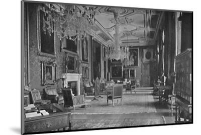 'The Van Dyck Room, Windsor Castle', 1927-Unknown-Mounted Photographic Print