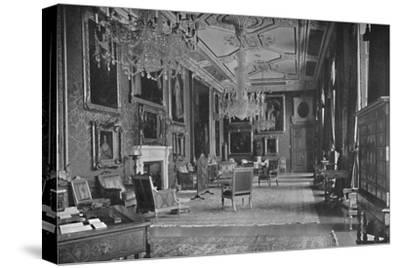 'The Van Dyck Room, Windsor Castle', 1927-Unknown-Stretched Canvas Print
