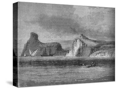 'Entrance of Balaclava Harbour', c1880-Unknown-Stretched Canvas Print