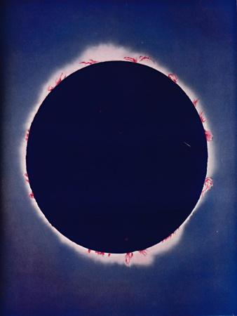 'What Is Seen During The Few Moments of a Total Eclipse', c1935-Unknown-Framed Giclee Print