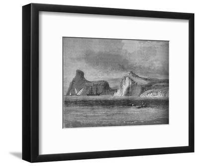 'Entrance of Balaclava Harbour', c1880-Unknown-Framed Giclee Print
