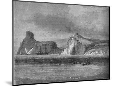 'Entrance of Balaclava Harbour', c1880-Unknown-Mounted Giclee Print