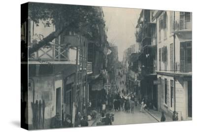 'Balconied Buildings of a Populous Trade Highway Running East and West, c1935-Unknown-Stretched Canvas Print