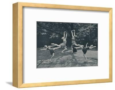 'Grace and Animation in New Classical and Russian Dancing', c1935-Unknown-Framed Photographic Print