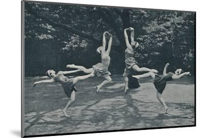 'Grace and Animation in New Classical and Russian Dancing', c1935-Unknown-Mounted Photographic Print