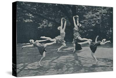 'Grace and Animation in New Classical and Russian Dancing', c1935-Unknown-Stretched Canvas Print