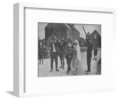 'Quaint Pagan Superstitions That Stilll Survive in Holy Island', c1935-Unknown-Framed Photographic Print