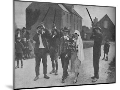 'Quaint Pagan Superstitions That Stilll Survive in Holy Island', c1935-Unknown-Mounted Photographic Print
