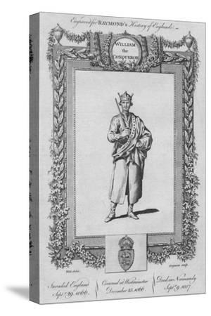 'William the Conqueror', c1787-Unknown-Stretched Canvas Print