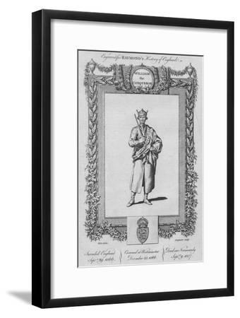 'William the Conqueror', c1787-Unknown-Framed Giclee Print