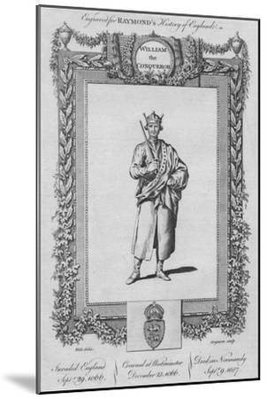 'William the Conqueror', c1787-Unknown-Mounted Giclee Print
