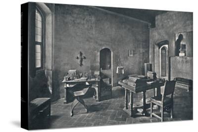 'Interior, Palazzo Davanzati', 1928-Unknown-Stretched Canvas Print