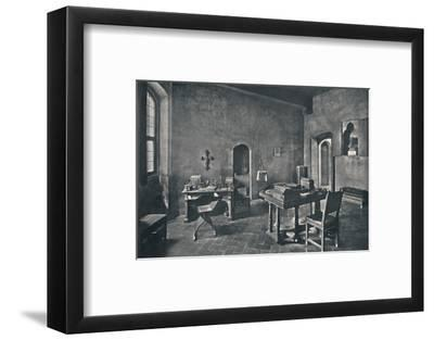 'Interior, Palazzo Davanzati', 1928-Unknown-Framed Photographic Print