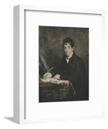 'John Bennett, Secretary of Lloyds 1804-1834', 1928-Unknown-Framed Photographic Print