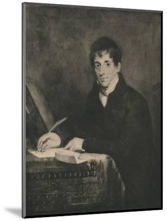 'John Bennett, Secretary of Lloyds 1804-1834', 1928-Unknown-Mounted Photographic Print