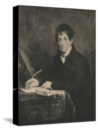 'John Bennett, Secretary of Lloyds 1804-1834', 1928-Unknown-Stretched Canvas Print
